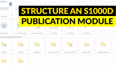 Structuring an S1000D Publication Module
